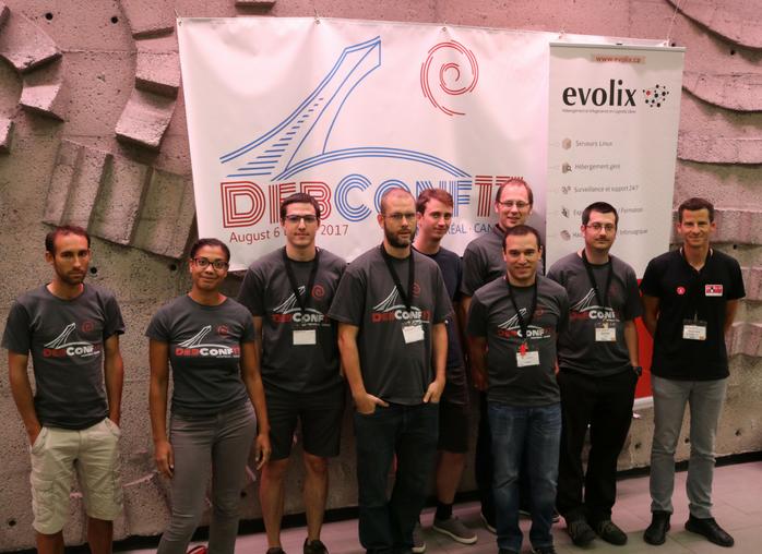 L'équipe Evolix à la DebConf17
