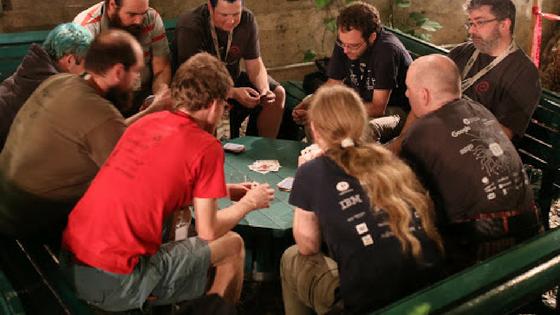 Jeu de Carte à la DebConf17