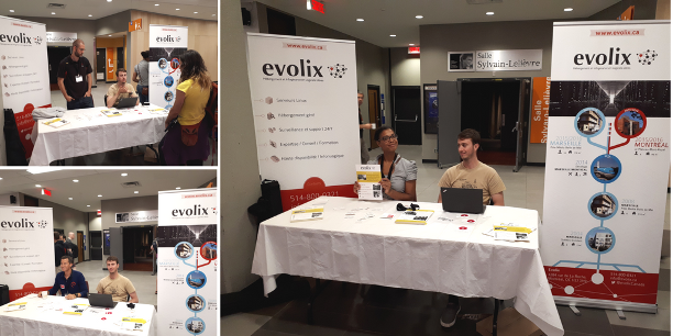 Job Fair à DebConf avec Evolix